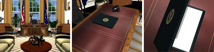 OVAL OFFICE FOLDER